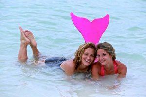Розовый хвост русалки